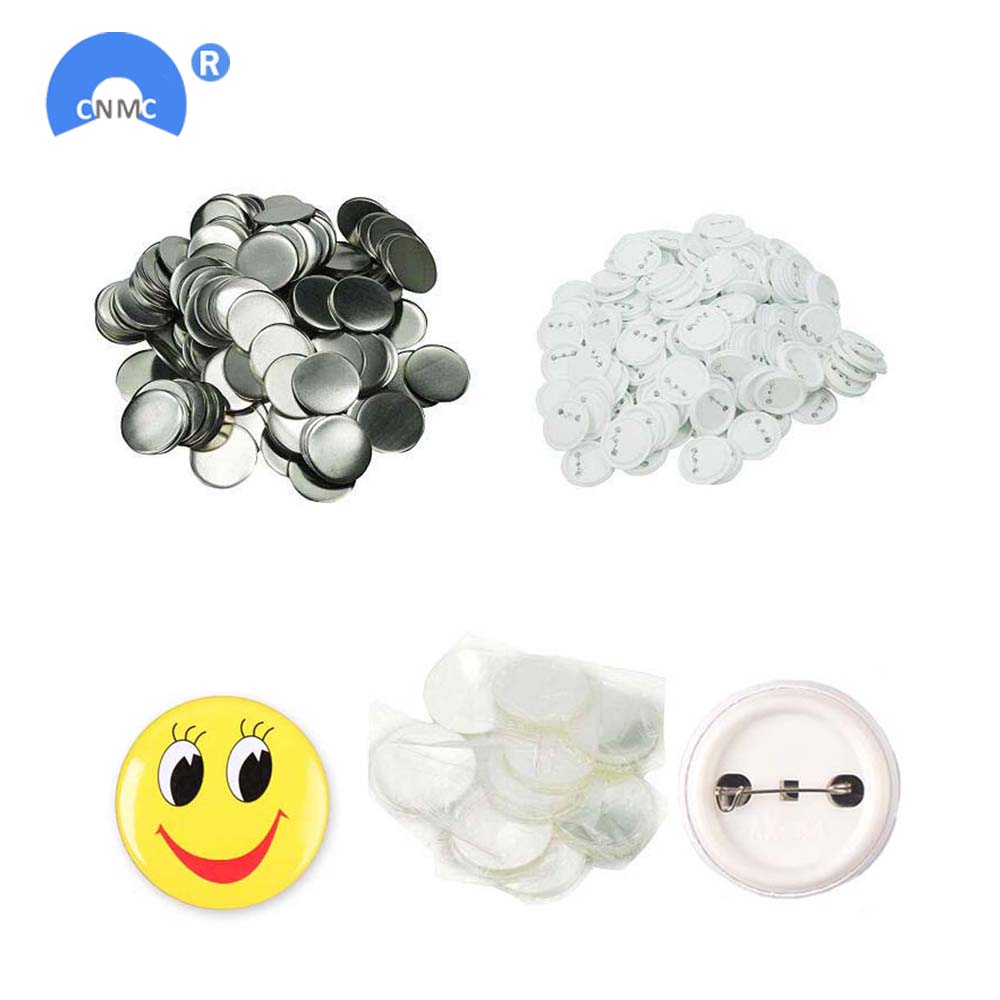 50 Pcs Button Pin Badge Personalised Custom Customizable Gift