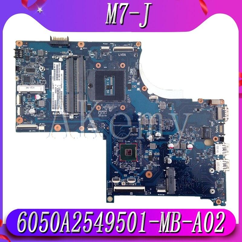 M7 J 17 J Mainboard for HP Envy M7 J 17 J Laptop Motherboard SPS:720265 001 PGA947 HM87 17SBU 6050A2549501 MB A02 Motherboards     - title=