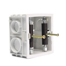 Tige de Support à vis, Cassette de commutation 6 pièces, boîte de commutation murale de 86mm, boîte de commutation secrète, outil de réparation vis accessoires électriques