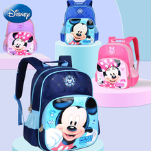 Disney Mickey Minnie Mouse Bag Kids Girls Boy Kindergarten BookBag Cartoon Waterproof Children Travel Plush Backpack