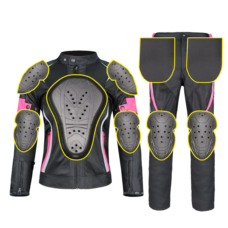 Motorcycle Protective Gear Women Jackets waterproof Moto Pants Breathable Mesh Touring Motorbike Clothing Riding Tribe 3