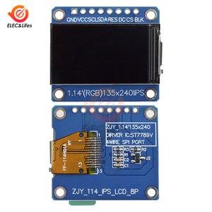 Image 5 - 1.14Inch 135X240 Spi Seriële Tft Lcd Display Module ST7789 Drive Ic Ips Hd Rgb Lcd scherm Full view 8 Pin 135*240 3.3V Spi Poort