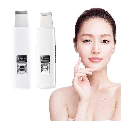Purificador da pele ultra s nico limpeza profunda rosto purificador remover a sujeira cravo reduzir