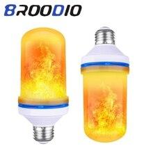 Ampoule LED E27 Flame Effect Bulbs LED Light 220V Bombilla Decor Light Bulb Room Lamp  Creative Fire Lights AC 85-265V 5W Flame