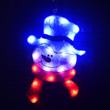 2D snowman xmas lighting christmas lights decoration outdoor festival led lighting holiday paty lights lighting inflatable shiny snowman for christmas decoration