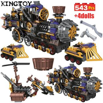 in stock lepin sets 16010 2430pcs lord of the rings figures the tower of orthanc model building kit blocks bricks kid toy 10237 543pcs City Creator the Age of Steam Trains Building Blocks Sets Military Figures DIY Bricks Toys 1706979
