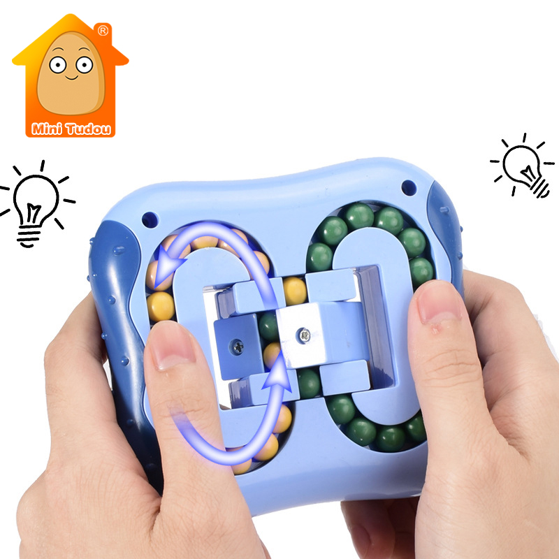 Fidget Toy Anti Stress Ball Maze Puzzle Lock Stress Relief Autism Anxiety Brain Intelligence Develop Game Toys For Kids Adults