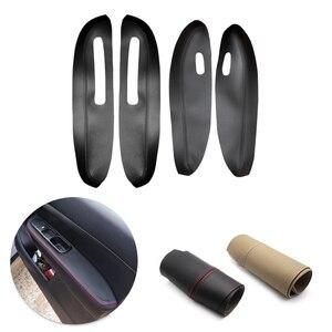 Image 1 - Peugeot 307 2004 2005 2006 2007 2008 2009 2010 2011 2012 2013 araba kapı kolu paneli kol dayanağı mikrofiber deri kılıf