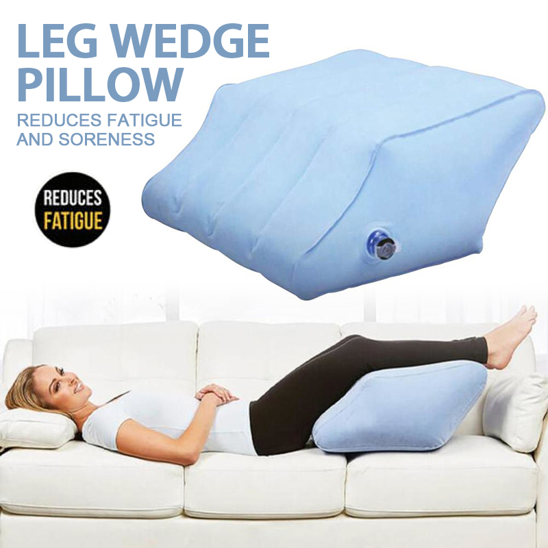 inflatable leg pillow wedge memory foot rest raiser support pillow cushion travel office home body pillows aliexpress