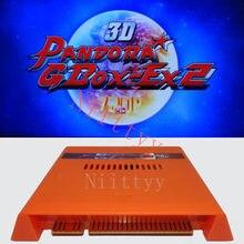 2020 nuevo 3D Pandora GBOX-EX2 4300 en 1 caja de juego Bord juego caja de Arcade cartucho Jamma PCB 720P VGA + HDMI Video juego controlador USB