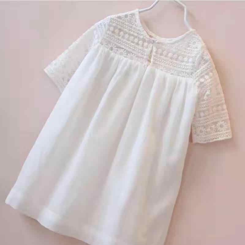 Meisje Witte Prinses Tutu Jurk Kinderkleding Formele Peuter Party Jurk Meisjes Kleding Kinderen Jurken 2-10 Jaar Oud kleding