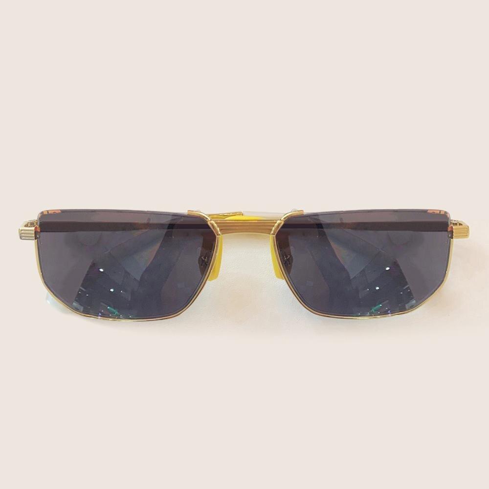 Rectangle  Frame Metal Sunglasses Women Fashion Trend Women/ Men Sun Glasses Alloy Frame Sunglasses Women Gafas De Sol Mujer