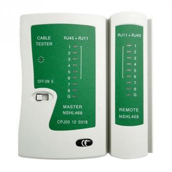 цена на Premium Network Cable Tester RJ45 RJ11 RJ12 CAT5 UTP LAN Cable Tester Detector remote test tools high quality