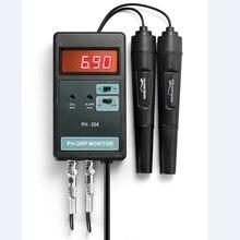 Цифровой рН ОВП-монитор точность портативный онлайн качество воды РН-метр аквариума ОВП-метр ATC Замок данных электродный датчик