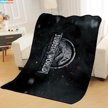 Blanket World-Blankets-Printing Portable Soft on Travel Nap Jurassic Sofa/office New-Arrival