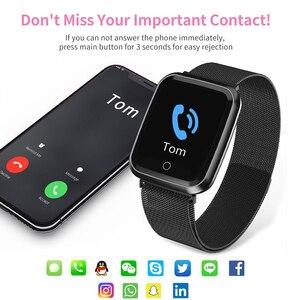 Image 3 - Femmes montre intelligente IP68 étanche smartwatch moniteur de fréquence cardiaque Sport Fitness montre appareils portables pour ios Android cadeau sangle
