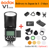 Godox V1 V1 N / V1 C / V1 S / V1 F TTL Li ion Camera Speedlight Flash For Nikon /Sony /Canon /Fuji