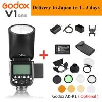 Godox V1 V1 N / V1 C / V1 S / V1 F TTL Li ion Camera Speedlight Flash For Nikon /Sony /Canon /Fuji