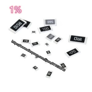 100 шт./лот резистор проволочного чипа 430K-910K 0201 1% 0402 0603 0805 1206 1210 2010 2512 470K 510K 560K 620K 680K 750K 820K в наличии