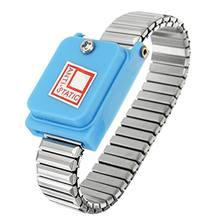 Bracelet de poignet antistatique en métal   Réglable sans fil, décharge de Bracelet ESD, travail électronique, fournitures de Bracelet sans fil
