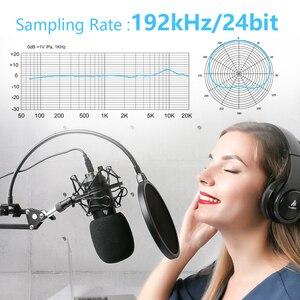 Image 5 - Maono AU A04 kit de microfone usb profissional, condensador de podcast, microfone com chapéu para pc, karaokê, youtube, gravação