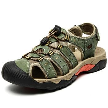 Men's Velcro Rubber Sandals