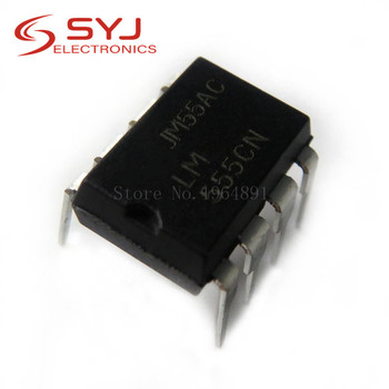10pcs/lot LM555CN LM555 555CN DIP-8 In Stock - discount item  8% OFF Active Components