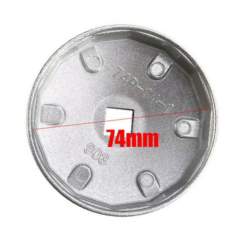 Aluminum 65-79mm Oil Filter Cap Wrench Socket Remover Tool For Toyota BMW