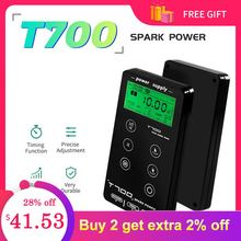 Tattoo Power Supply Fonte  For Tattoo Machines Touch Screen Source T700 Digital LCD Makeup Dual Tattoo Power Supplies
