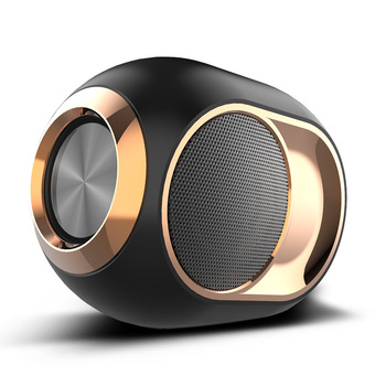 Stylish portable high-end Bluetooth speaker good quality audio wireless dual speakers