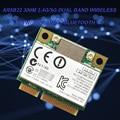 Двухдиапазонная 300 Мбит/с Wifi AR5B22 Беспроводная 802.11a/b/g/n половинная мини PCI-E WLAN 2,4G/5 ГГц Bluetooth 4,0 Wi-Fi беспроводная сетевая карта