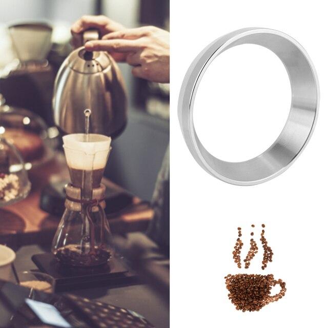 58MM Profilter café inviolable expresso dosage entonnoir acier inoxydable brassage bol café dosage anneau remplacement Barista outil