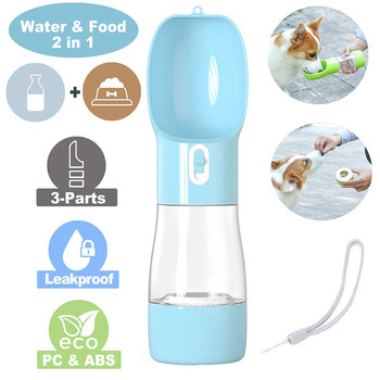Portable Water Bottle For Outdoor with Dispenser Feeder