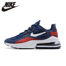 Nike Air Max 270 React Man Running Shoes Breathable Sports Sneakers Anti-slip Men Shoes NEW ARRIVAL #AO4971 nike air max 270 react new arrival men running shoes air cushion outdoor sports sneakers men original ao4971