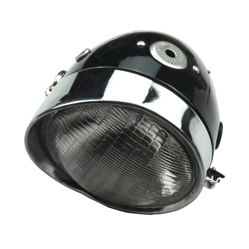 Phare d'origine noir CJK750 Moto Ural Moto M72 phare pour CJ-K750 R1 R71 M72 MW750