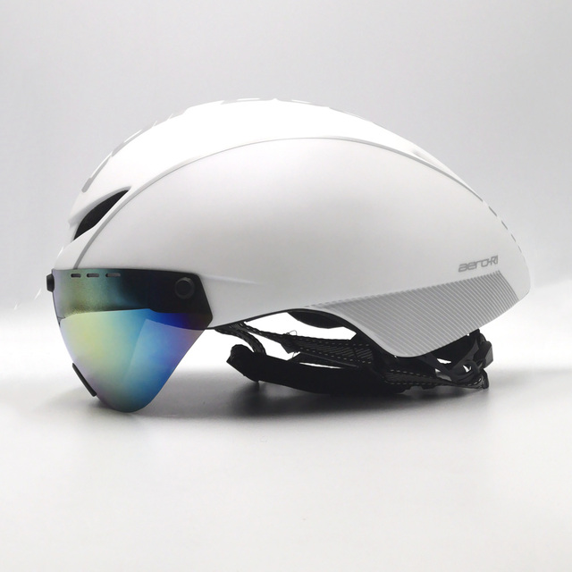 Cairbull capacete de segurança para ciclismo, capacete de segurança branco para andar de bicicleta na estrada, aero, ciclismo de corrida 3