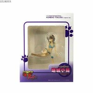 Image 5 - Anime High School DxD HERO Toujou Koneko Cat Sexy Girls Lingerie Ver. Giocattoli modello da collezione in PVC dipinto in scala 1/7