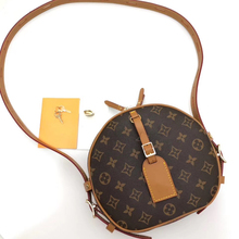 High quality luxury portable circular ladies bag leather fashion women's