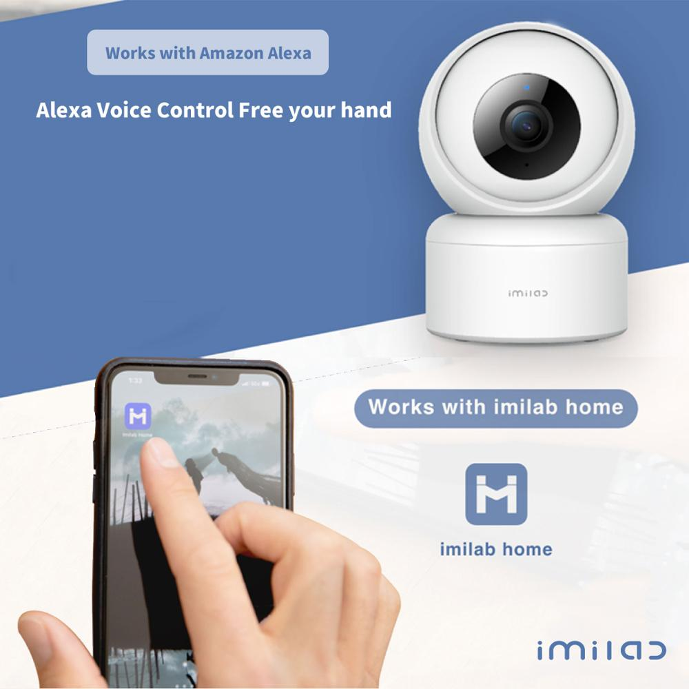 1080P HD Home Camera C20 APP WiFi Security Night Vision Camera Surveillance Baby Monitor H.265 Sound Detection Global Version 4