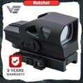 Vecteur optique cliquet GEN II 1x23x34 Multi réticule vert point rouge vue avec QD 20mm Weaver Mount pour cher tir chasse