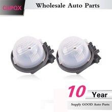 CAPQX dla Suzuki Alto 2009-2013 Swift 2005-2013 SX4 2006-2013 wysokiej jakości Auto oświetlenie tablicy rejestracyjnej lampka tablicy rejestracyjnej światła