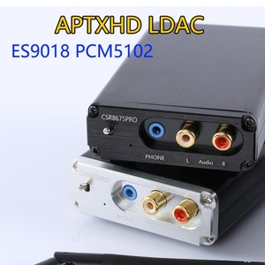 Image 2 - Lossless HIFI CSR8675 APTX HD Bluetooth 5.0 Wireless Receiver Adapter ES9018K2M I2S DAC Decoding 24BIT TWS 3.5M RCA