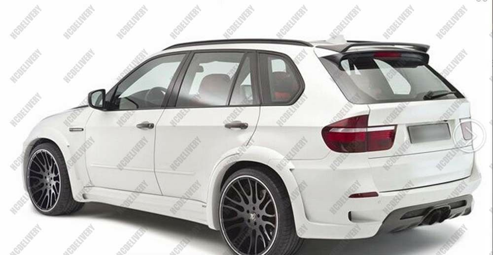 Carbon Fiber Roof Spoiler Wing for 2008-2013 BMW X5 E70 HM Style 2009 2010 image