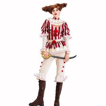 Disfraz de Halloween para mujer de talla grande Sexy disfraz de Carnaval Joker Disfraces ropa de mujer fiesta de adultos gracioso disfraz de bruja