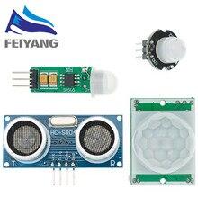 1 sztuk MH-SR602 mini czujnik ruchu moduł detektora SR602 piroelektryczny czujnik podczerwieni PIR zestaw sensorycznej przełącznik uchwyt Diy