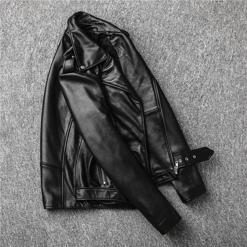 H08127eeadf8949a181090d81aa088071Y Free shipping,Sales!Brand new genuine leather jacket.mens motor biker sheepskin coat.slim plus size jackets.leather outwear