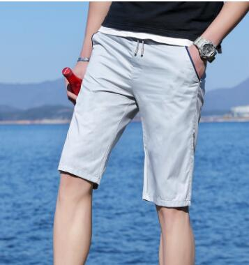 GG6 Men's Casual Summer Shorts Men's Five-point Pants 2018 New Men's Beach Pants Youth