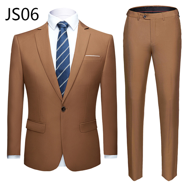Мужской деловой костюм из 2 предметов фирменный Super Quality 6