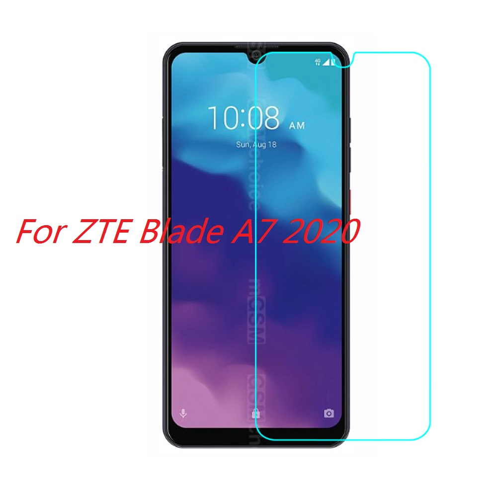 Tempered Glass For ZTE Blade A7 2020 Glass Screen Protector 2.5D 9H Premium Tempered Glass For ZTE BLADE A72020