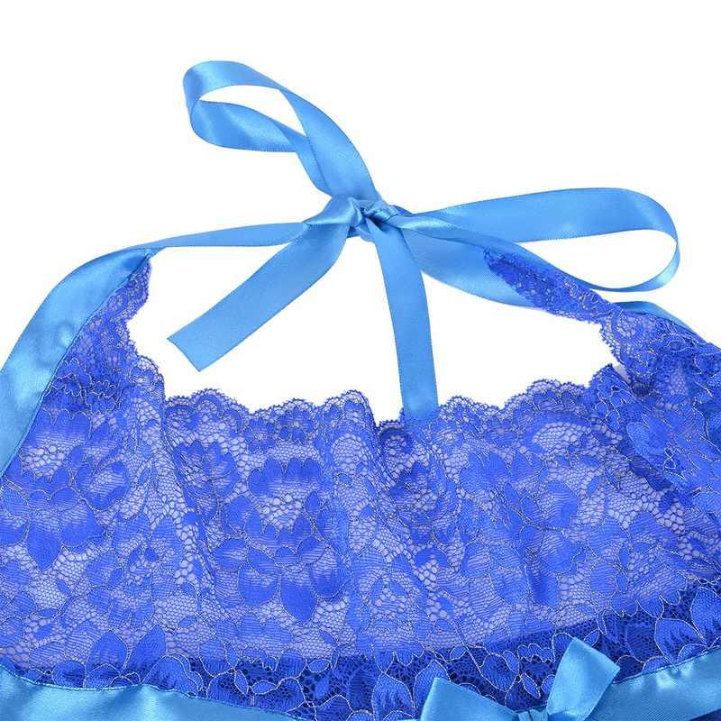 2020 พลัสขนาดผู้หญิงเซ็กซี่ V คอชุดชั้นในชุดนอน PLUS ขนาดโบว์สายรัดชุดชายหาด Backless Vestidos 5XL